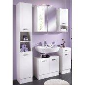Badezimmermöbel weiss günstig  Badezimmermöbel Sets günstig online kaufen