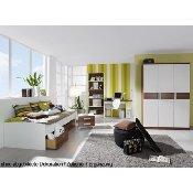 Jugendzimmer Komplett Set Nussbaum