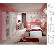 Kinderzimmer Komplett Set Rosa