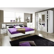 Schlafzimmer Komplett Set Alpinweiß