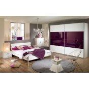 Schlafzimmer Komplett Set Lila