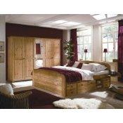 Schlafzimmer Komplett Set Massivholz