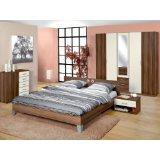 Schlafzimmer Komplett Set Nussbaum