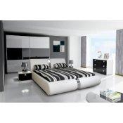 Schlafzimmer Komplett Set mit Polsterbett