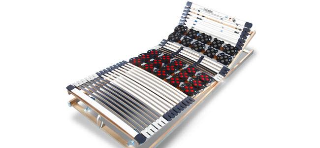 Ravensberger DUOMED 7-Zonen Hyprid-Teller-Lattenrost starr oder verstellbar