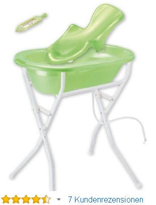 Rotho Babydesign Babywannen Set mit Ständer und Einsatz » Infos & Preise