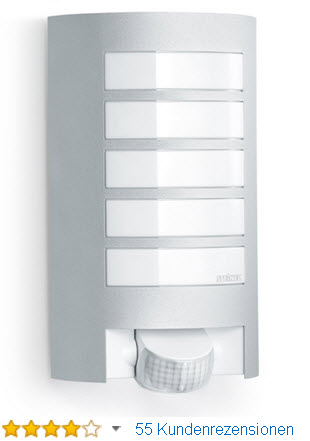 Steinel 657918 L 12 Außen-Sensorleuchte, Bewegungsmelder mit Sensortechnik