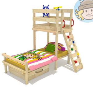 Wickey Kinderbett Abenteuerbett Spielbett Captain Flynt